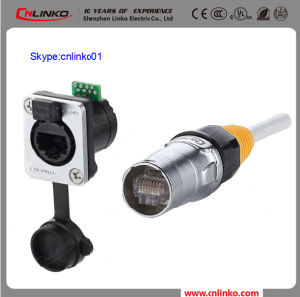 Hot Selling 8p8c Modular Plug and Panel RJ45 Mount Socket for Signal Equipment pictures & photos