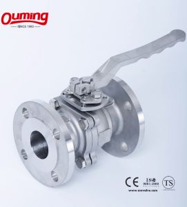 2-PC Flange Ball Valve pictures & photos