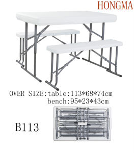 Beer Table Set B113 Beer Garden Table and Bench pictures & photos