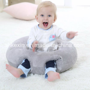 Round Plush Fabric Baby Bolster Pillow pictures & photos