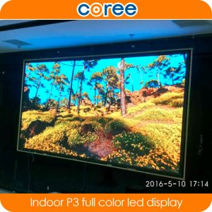 Indoor High Definition SMD P3 Full Color LED Screen pictures & photos