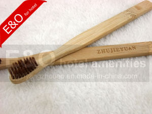 2-PC Set Eco-Friendly Bamboo Toothbrush with Bamboo Bristle pictures & photos