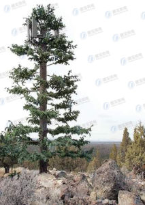 GSM Steel Structure Artificial Bionic Tower