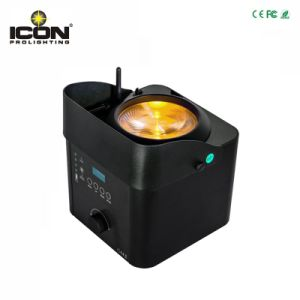 RGBW 4in1 COB LED PAR Light with Battery and Wireless pictures & photos