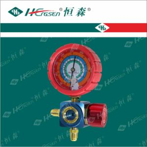 Three-Way Valve / Refigeration Fittings / Refrigeration Valve / Pressure Gauge Set pictures & photos
