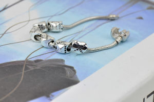 Mother′s Day Gift Silver Plating Bracelet Bead pictures & photos