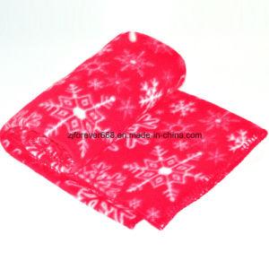 Low Price Printed Car Blanket Sleep Blanket Air Conditioner Blanket Fleece Blanket pictures & photos