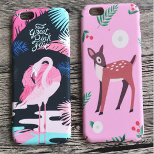 New Arrival Cute Animal Decal Water Printing Hard PC Plastic Phone Cover Case for iPhone 6 pictures & photos