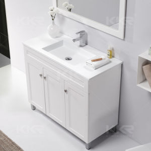 Hot Design Cabinet Basin Artificial Stone Bathroom Vanity pictures & photos