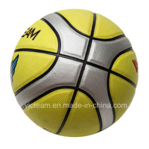 Cheap Massive Yellow 12 Panels Play Basketball pictures & photos