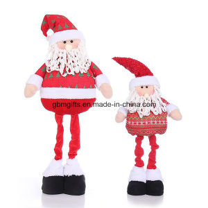Santa Claus and Snowman Felt Christmas Home Decoration as Gifts pictures & photos