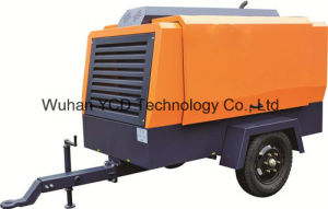 Diesel Driven Portable Screw Air Compressor (DSC 740H) for Mining, Shipbuilding, Urban Construction, Energy, Military and Industries pictures & photos
