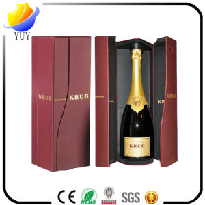 Custom Printing Logo PU Leather Packaging Wine Box pictures & photos