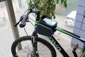 Superfine Fiber PU Material Bike Bag pictures & photos