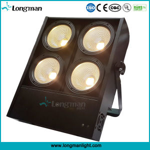 High Power 4 Eye 4X100W LED COB Stage Blinder Audience Light pictures & photos