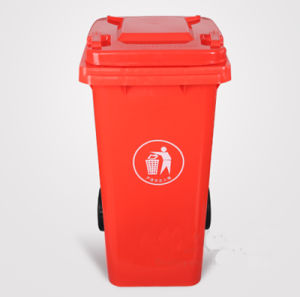 Outdoor HDPE Plastic Best Price Garbage Street Litter Rubbish Bin Stand pictures & photos