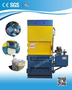 Vmt20-8060 Vertical Baler Press with Crossed Cylinder for Paper; Carboard and Plastic pictures & photos