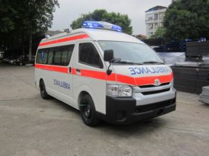 Toyota Hiace High Roof 3.0L Diesel Rhd Ambulance pictures & photos
