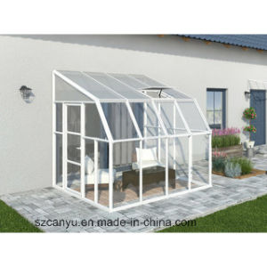 New Design Garden Sun Rooms/Modern Glass Houses/Glass Green Room pictures & photos