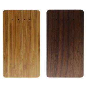 4000mAh Walnut Wood Power Bank Backup Battery for Mobilephone (PB-M01) pictures & photos
