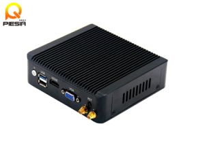 4 Ethernet Ports 12V Firewall Embedded Industrial Router J1900 Mini PC pictures & photos