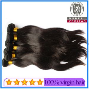 Natural Color Full Cuticle Intact Unprocessed Virgin Hair pictures & photos