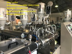 Five Layer PE Tube Extruder and Cutting Machine pictures & photos