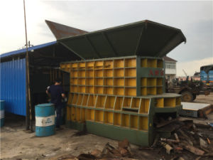 Ws-800 Hydraulic Scrap Metal Shearing Machine pictures & photos