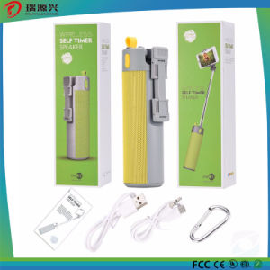4 in 1 Multi function bluetooth speaker monopod selfie stick 2000mAh power bank pictures & photos