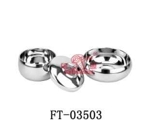 Stainless Steel Rice Bowl Set (FT-03503)