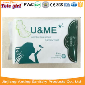 Herbal Anion Scene Absorbent Core Sanitary Napkin pictures & photos
