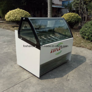 Gelato Display Freezer/Display Freezer 2017 pictures & photos