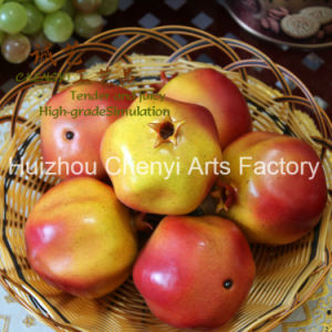 Hot 90mm Pomegranate Artificial Fruit pictures & photos
