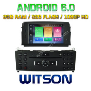 Witson Octa-Core (Eight Core) Android 6.0 Car DVD for Mercedes-Benz C Class W204 2007-2011 2g ROM 1080P Touch Screen 32GB ROM pictures & photos