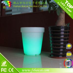 Outdoor Furniture for Sale Vase LED Light Base