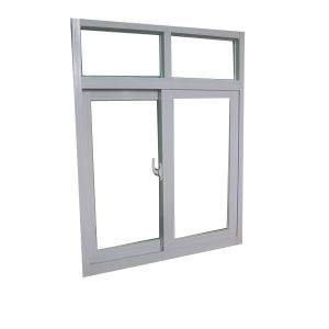 Aluminum Framed Double Glazed Sliding Glass Window pictures & photos