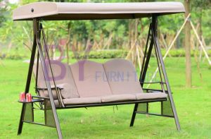 Hot Sale Outdoor Adults Hanging Three Seat Swing Chair pictures & photos