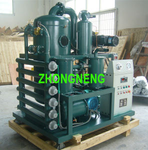 Vacuum Transformer Oil Filtration System, Zhongneng Oil Purifier Equipment pictures & photos