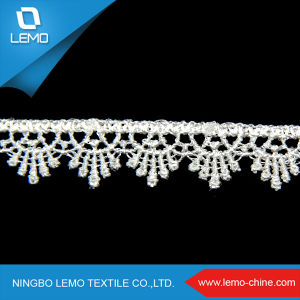 Beaded Lace Fabric, High Quality African Lace pictures & photos