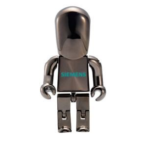 New Products 2016 Gift Robot USB Drive U Disk Gold pictures & photos