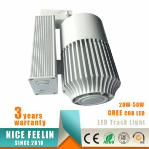 Black/White Color CREE Chip 45W Ra: 80/90 COB LED Track Light pictures & photos