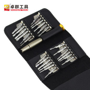 25PCS Foldable Multi-Purpose Precision Bits Screwdriver Set Screw Driver pictures & photos