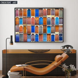 Colorful Diffierent Kinds of Doors Canvas Print pictures & photos