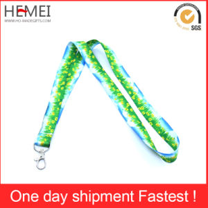 Heat Transfer Printing Lanyard with Badge Holder pictures & photos