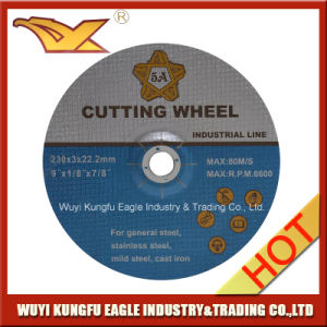 En12413 Standard Abrasive Depressed Center Steel Cutting Wheel pictures & photos