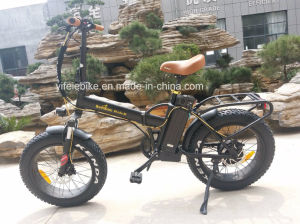 Fat Tire High Speed 20′inch Folding Electric Bicycle pictures & photos