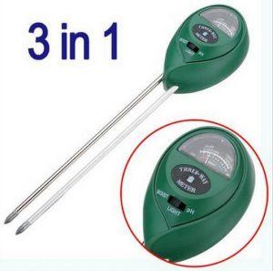 Moisture Monitoring pH Soil Tester Soil Light Sensor for Gardening pictures & photos