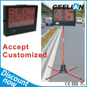 Mobile Solar Radar LED Speed Limit Sign pictures & photos
