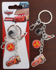 Promotional Gift- Metal Car Epoxy Logo Key Chains Rings Customerized Design Enamel Keychains