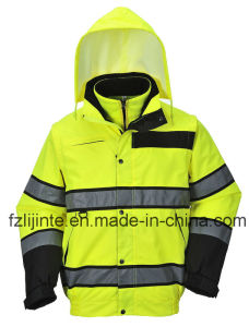 Relective En471 High Visibility Safety Jacket pictures & photos